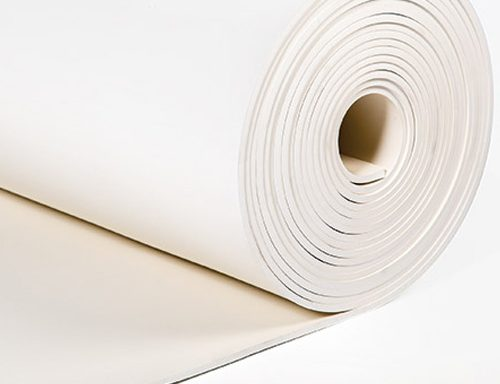 NBR Rubber Sheet White